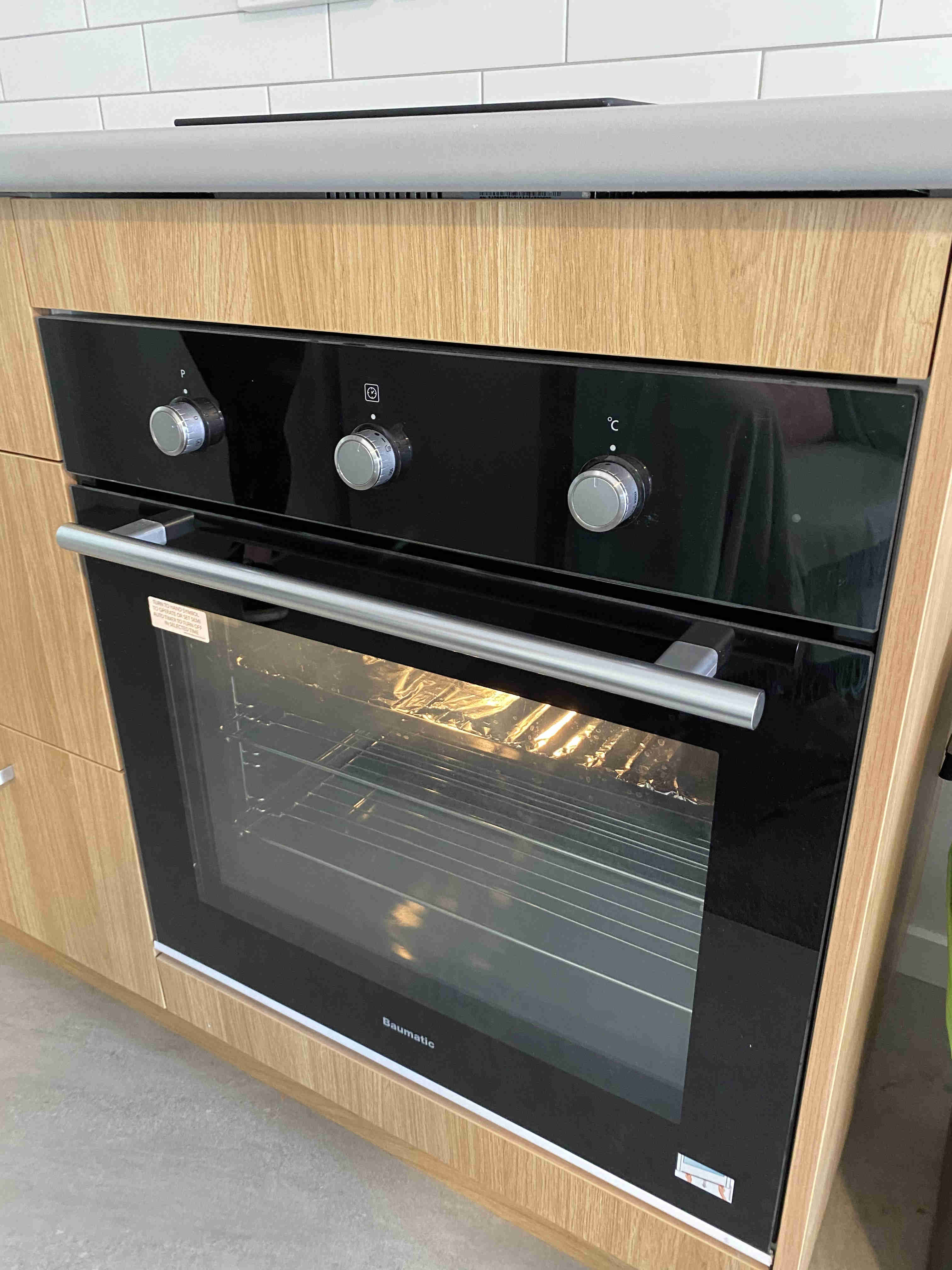 Oven in our fully equipped kitchens in all apartments