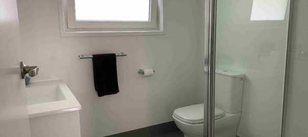 Bathroom of studio apartments