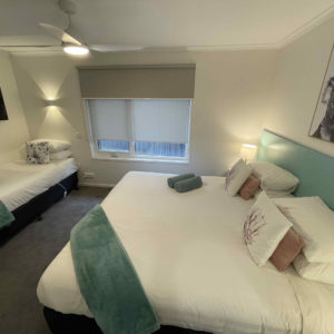 King and Single Bed with Smart TV (Twin/Triple Apartment)
