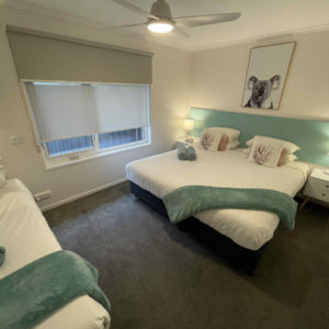 King and Single Bed (Twin/Triple Apartment)