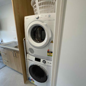 Laundry Facilities (Twin/Triple Apartment)